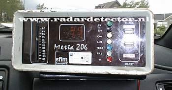 Mesta 206 radar